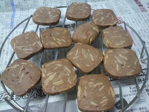 ココアアーモンドクッキー.JPG